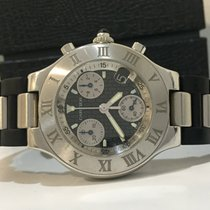 Cartier Chronoscaph Must 21 Black Dial 38mm
