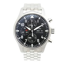 IWC Pilots Stainless Steel Black Automatic IW377710