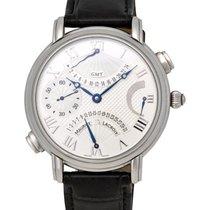 Maurice Lacroix Masterpiece Double Retrograde GMT Men's Watch...