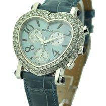 Corum Romantic Heart Chronograph Diamond Bezel