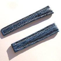 Breitling Band 16mm Hai Blau Blue Shark Strap Correa Für...