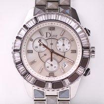 Dior Christal Mother-of-Pearl & Diamond Chronograph LE