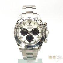 Rolex Cosmograph Daytona Weissgold Racing Dial 116509