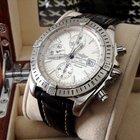 Breitling Chronomat Evolution Steel Silver Dial 44 mm (2007)