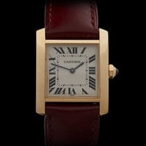 Cartier Tank Francaise Mid size 18k Yellow Gold Unisex W5001456