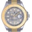 Rolex Mens Yachtmaster New Watch With Slate Dial 16623