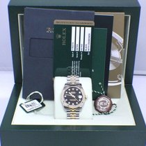Rolex Datejust Midsize 18K & Stainless 31MM Diamond Dial