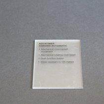 IWC Display piece Auquatimer Chrono Automatic