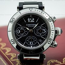 Cartier Pasha Seatimer Chronograph Rubber / SS