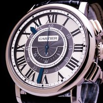 Cartier Rotonde de Cartier Chronograph 18k whitegold Automatic...