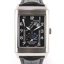 Jaeger-LeCoultre Reverso Moonphase Power reserve white gold