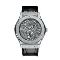 Hublot Classic Fusion Skeleton 42mm Automatic Titanium Mens...
