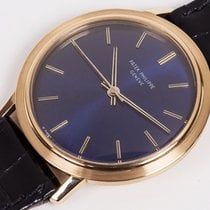 Patek Philippe Automatic ref. 3569 Yellow Gold, blue dial,...