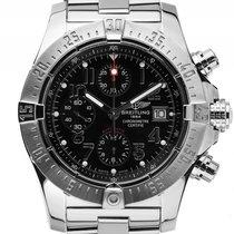 Breitling Avenger II Chronograph Stahl Automatik Armband Stahl...