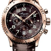 Breguet Transatlantique Type XXI Flyback Chronograph Rose Gold...