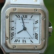 Cartier Santos 29mm Mens Automatic Date Watch Stainless Steel...