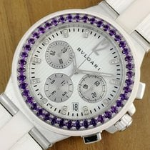 Bulgari Diagono Diamonds Dial Automatic Chronograph Men´s Watch