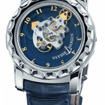 Ulysse Nardin Freak 1st Edtiion in White Gold Tourbillon...