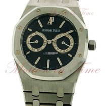 Audemars Piguet Royal Oak Day-Date, Black Dial - Stainless...