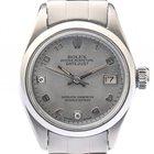 Rolex Datejust Lady Stahl Automatik Diamond Perlmutt Oyster...