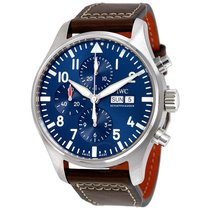 IWC Pilot Midnight Automatic Chronograph Blue Dial Men's...