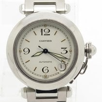 Cartier Pasha C 2324 Date Stainless Steel Automatic Watch For Men