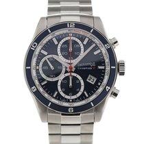 Eberhard & Co. Champion V 43 Blue Dial Chronograph