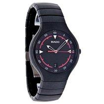 Rado True Active Mens Black Ceramic Watch R27677152