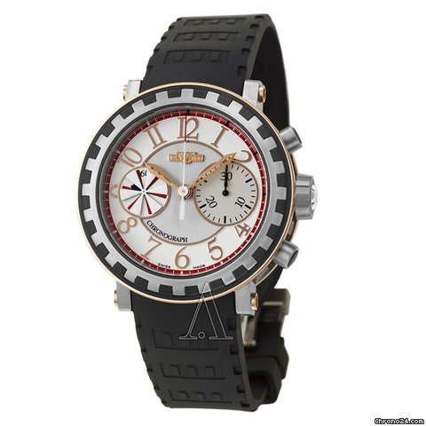 Dewitt Men&amp;#39;s Academia Chronographe Squentiel Watch
