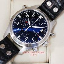 IWC Double Pilots Chronograph Black Dial IW377801 UNWORN