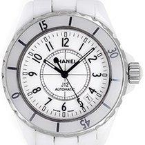 Chanel J12 White Ceramic Men's Unisex Ladies Watch H0970...