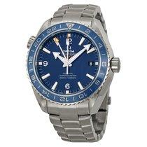 Omega Planet Ocean GMT Automatic Blue Dial Titanium Men's...