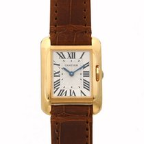 Cartier- Tank Anglaise Kleines Modell, Ref. W5310028