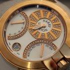 Harry Winston ocean lady 37MM rose gold bi retrograde diamonds