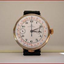 Omega Cronografo monopulsante in argento 47mm