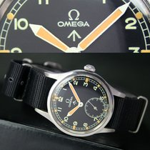 Omega Military Winding 30T2 Side Second Mens Watch Uhr WWW