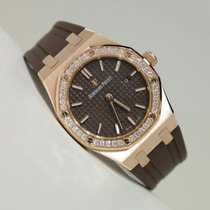 Audemars Piguet Royal Oak Lady Quartz 33 mm Rose Gold Watch