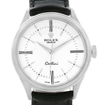 Rolex Cellini Time 18k White Gold White Dial Automatic Mens...