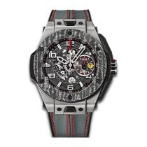 Hublot Big Bang Unico Ferrari 45mm Automatic Titanium Mens...