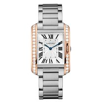 Cartier Tank Anglaise  Mens Watch Ref W3TA0003