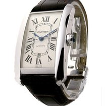 Cartier Tank Americaine in White Gold XL