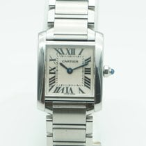 Cartier Tank Française Lady Stainless Steel  ref. 2384