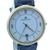 Maurice Lacroix Herren Uhr Classic 34mm Stahl Vergoldet
