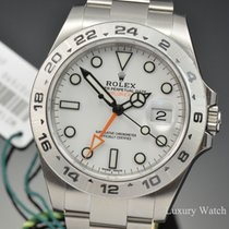Rolex Explorer II White Automatic Stainless Steel 42MM 216570