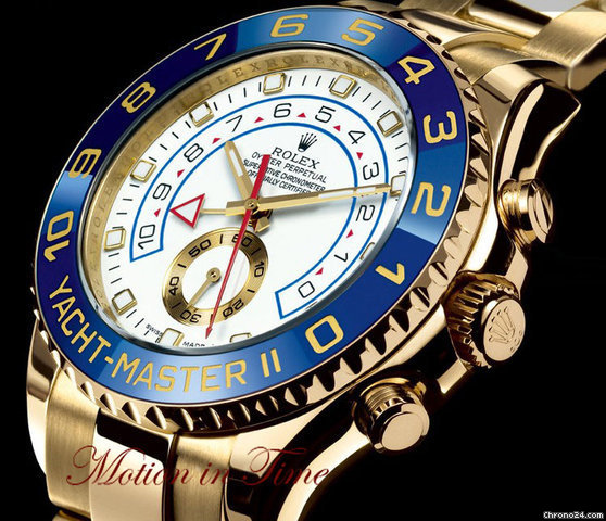 Rolex YACHT-MASTER II REGATTA FLYBACK CHRONOGRAPH - YELLOW GOLD