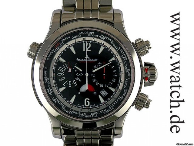 Jaeger-LeCoultre Master Compressor Extreme World Chronograph Stahl/Titan 46mm