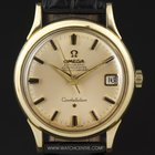 Omega 18k Yellow Gold Automatic Constellation Gents Watch