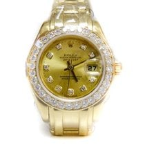 Rolex Datejust Lady  Pearlmaster Yellow Gold Masterpiece 32 Dia