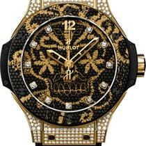 Hublot Big Bang Broderie Yellow Gold Diamonds 41mm