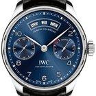 IWC Portugieser Annual Calendar Blue